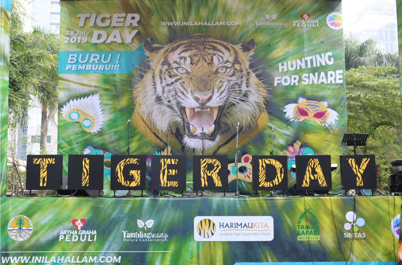 TWNC Gelar Global Tiger Day di SCBD